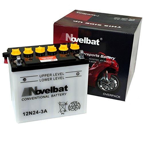 Novelbat 12N24-3A Motorradbatterie 12V 24Ah 218A