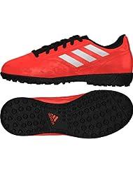 Adidas Kinder Fussballschuhe Multinocken Conquisto II TF Junior rot schwarz