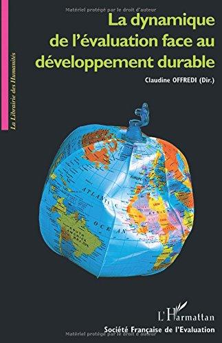 La dynamique de l'évaluation face au développement durable : Limoges 2003