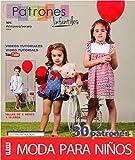 'Zeitschrift Schnittmuster Kinder, Nr. 6. Mode Sommer, 30Modelle Muster mit Videotutorials (Youtube),
