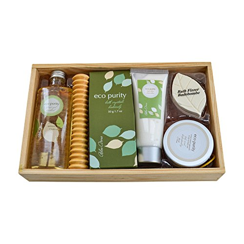 Geschenkidee Wellness-Set Aloe Vera in Holzbox