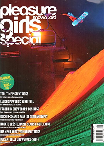 Pleasure Magazine Snowboard - Girls Special 2011