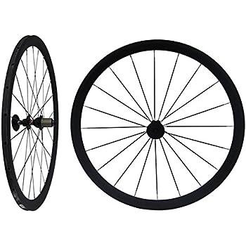 Carbono Llantas 38 mm Tubular para bicicleta de carretera mate Rueda RIM
