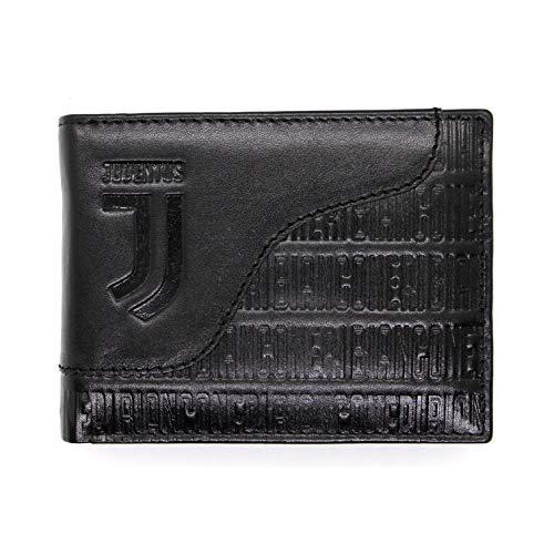 Portafoglio in Vera Pelle JUVENTUS FC con portamonete porta carte e ribaltina
