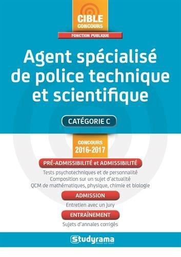 Agent spécialisé de police technique et scientifique