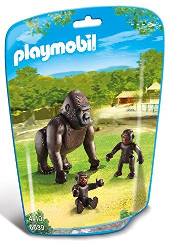 PLAYMOBIL - Gorila con bebés 6639