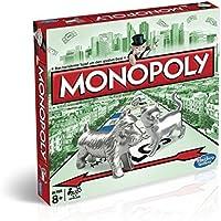 Hasbro Monopoly C1009100 - Monopoly Classic, Familienspiel