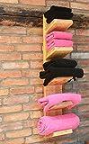 Holz Handtuchregal hängend natur geölt fertig montiert