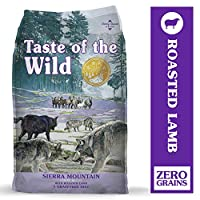 Taste of The Wild Grain Free Premium High Protein Dry Dog Food Sierra Mountain with Roasted Lamb 2.27kg