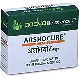 Aadya - Arshocure Capsule – 30 Capsules(10x3) - Herbal - Helps With Piles, Haemorrhoids