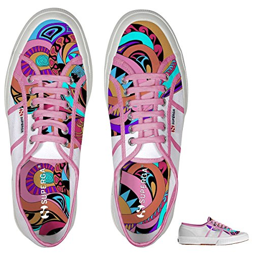 Superga  2750 Fantasy Cotu, Baskets femme WONDERLAND