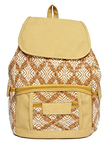 Vintage Women'S Backpack Handbag(Gold,Bag 334)  available at amazon for Rs.310