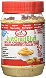 Betty Lou's - Just gran material orgánico en polvo, mantequilla de maní - 6,43 oz.