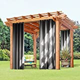 Outdoorvorhänge Gartenlauben Balkon-vorhänge - PONY DANCE 1 Stück Privatsphäre Sonnenschutz...
