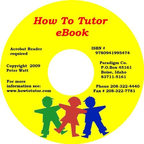 Preisvergleich Produktbild How To Tutor E-book