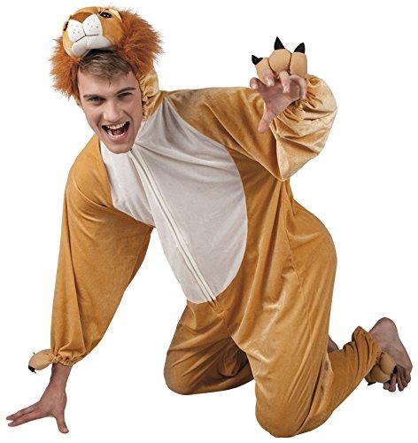 Löwen Herren Kostüm - B88020-195 Löwen Kostüm Damen Herren Gr.bis max. 195 cm Körpergröße