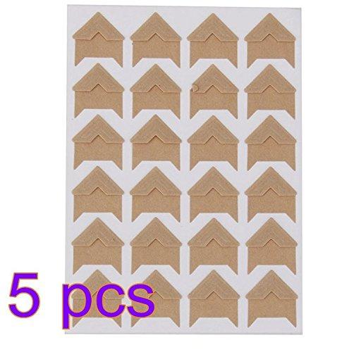 Phase Zwei Zubehör (DAGNE DIY Fotoalbum Zubehör Phase Winkel Paste Stil 2)
