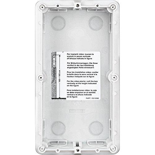 Legrand Boîte d'encastrement 2 modules pour portier vidéo