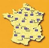 Michelin Karte 527 Wasser- und reißfest, Provence-Alpes-Côte-d'Azur ( Marseille, Gap, Nice / Nizza, Avignon, Briancon, Cannes, St-Tropez, Carpentras) touristische Straßenkarte 1:200 - 000, indéchirable - Landkartenhaus