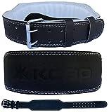 Kobo WTB-02 Leather Weight Lifting Belt, X-Large (Black)