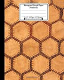 #3: Hexagonal Graph Paper Notebook. 8 X 10. 120 Pages. 0.5 Hexagons: Hexagons and Honeycombs Design