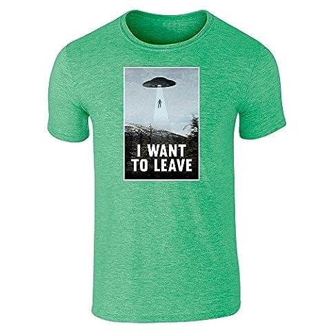 Pop Threads - T-shirt - Homme - vert - X-Large