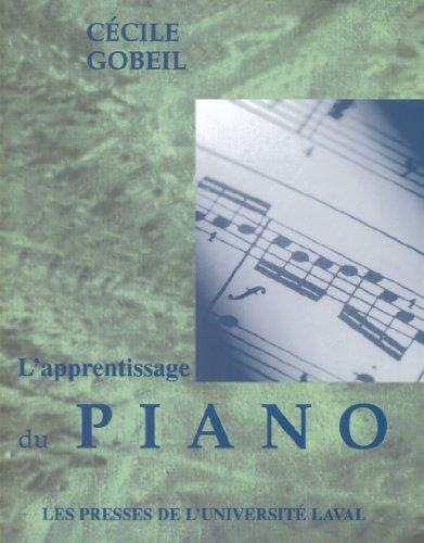 Apprentissage du Piano