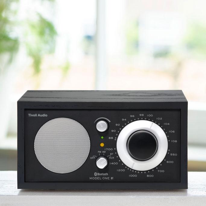 Tivoli audio model one bt bluetooth am fm table radio for Amazon tavoli