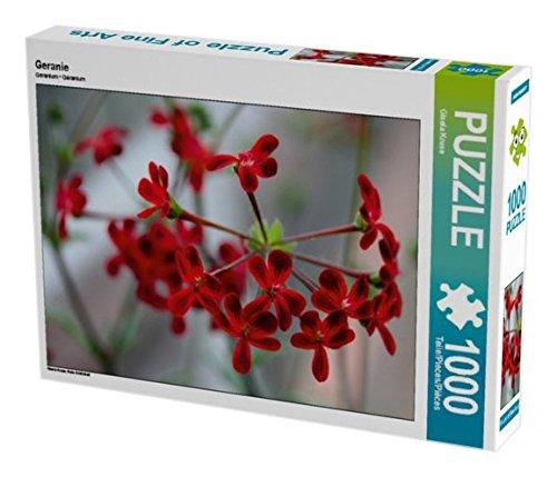 Preisvergleich Produktbild Geranie 1000 Teile Puzzle quer: Rote Schönheit (CALVENDO Natur)