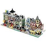 LEGO 10230 VIP - Juego de módulos mini, versiones en miniatura de los 5 primeros juegos de módulos (cafetería, mercado, verdulería, estación de bomberos y grandes almacenes)