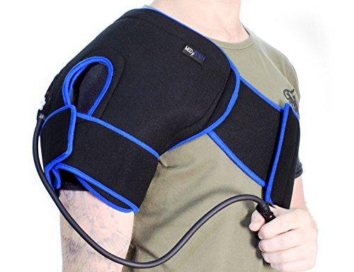 Schulter Ice Gel Pack Kryotherapie Verletzungen Cuff-medibrace Superior Kälte Kompressions Therapie für Sport Profis - Kompressions-pumpe-therapie