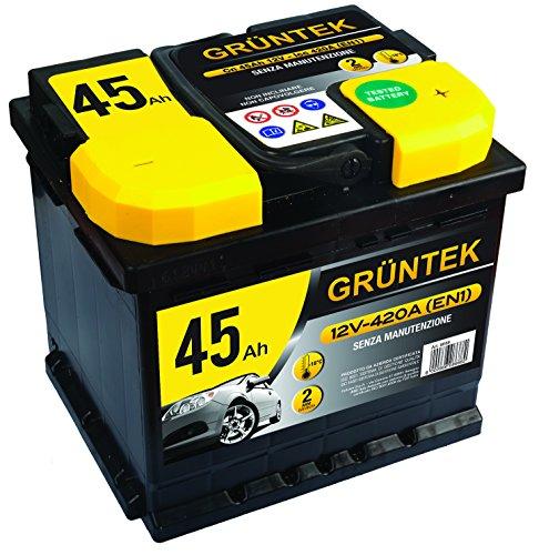 Gruntek L1 Batteria Auto 45AH 420A 12V