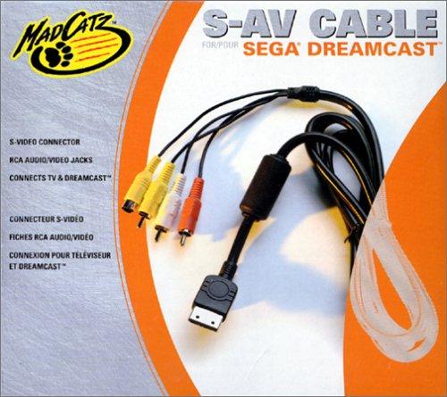 Dreamcast - S-AV-Kabel (Mad Catz)