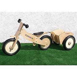 Spyder n Drag - Bici de madera de equilibrio