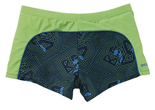 Beco maillot de bain pour homme bleu clair Multicolore - Vert/multicolore