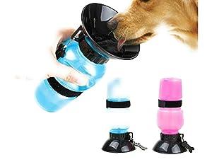 Vepson Travel Pet Dog Water Bottle Mug