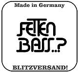 Fetten Bass..? Aufkleber Auto jdm oem Sticker Felgen Aufkleber Audi Vw BMW 12x8cm schwarz