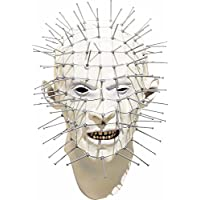 Paper Magic Men's Don Post Studios Pinhead Mask, White, One Size