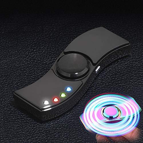 Drreny USB Multifunzione Accendino ad Arco Touch Screen Ricaricabile Antivento Candele Sigarette Senza Fiamma Plasma