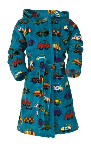 Price comparison product image Möve Hearts and Cars Dressing Gown 104 cm Multi-colour