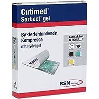 Cutimed 7261102 Verbände, Sorbact Gel, 7,5 cm x 7,5 cm (12-er pack) preisvergleich bei billige-tabletten.eu