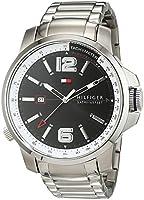Caballeros-reloj analógico deportivo sofisticado Tommy Hilfiger de acero inoxidable de cuarzo 1791222 de Tommy Hilfiger