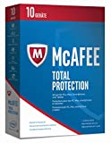 Software - McAfee Total Protection 2017 - 10 Geräte Minibox [Online-Code]