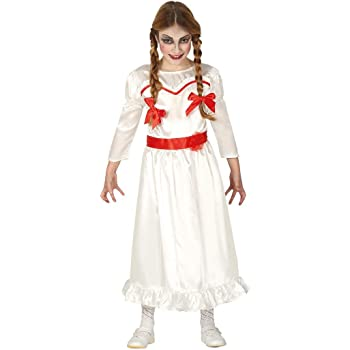 guirca girls halloween possessed doll costume kids annabelle fancy dress
