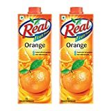 #2: Real Orange Juice, 1L (Pack of 2)