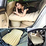 #6: Car Bed Inflatable Crysta Air Mattress Accessories Back Seat Beige Creta Cream Duster Automotive Innova Flatable Rear Sleeping Suv
