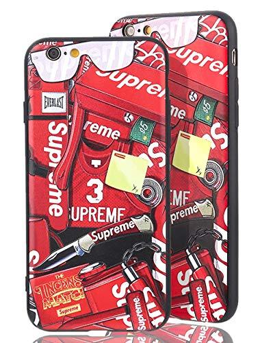 70's up [ Apple iPhone 6 Plus ] Estuche Logotipo Supreme