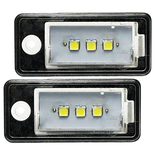 top-led-placa-de-licencia-lights-tuv-approved-para-audi-a3-8p-a4-b6-b7-a6-4-f-smd-5050-super-blanco-