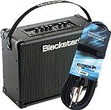 Black Star ID Core 40Stereo Combo para guitarra Amplificador + Guitarra GC Cable de Keepdrum 0046m gratis.