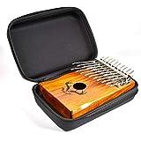 Basisago Zubehör-Set für Kalimba, tragbare Schlüsseltasche Kalimba Umhängetasche Handtasche für Kalimba Piano, 17/15/10 Schlüssel Piano Finger